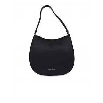 Armani Exchange Eco Leather Hobo Bag