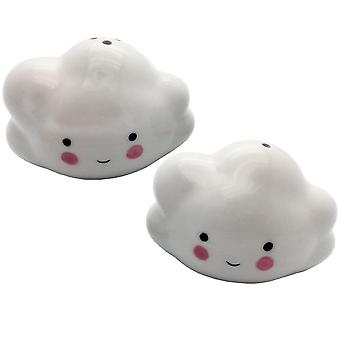 Streamline NYC Cutie Cloud Salt & Pepper Set