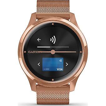 Garmin - Relógio Híbrido - vivomove Luxe Rosegold - 010-02241-04