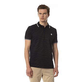 Polo short sleeves Blue Roberto Cavalli men