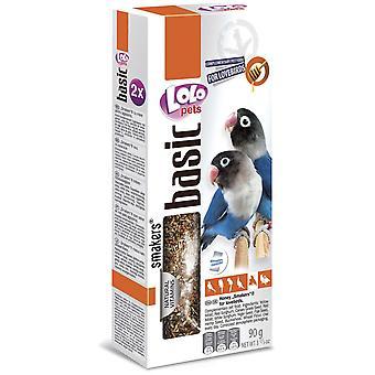 Lolo 2 Barritas Miel 90Gr Lolo Agapornis (Birds , Bird Treats)