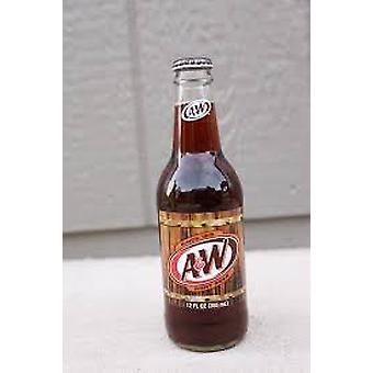 A & w Root Beer Glass -( 341 Ml X 4 Burkar )