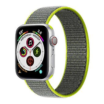 Apple Watch 5 (40mm) Nylon Armbånd - Flash