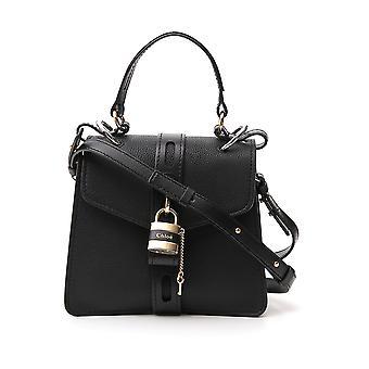 Chloé Chc19ws205b71001 Women's Black Leather Shoulder Bag