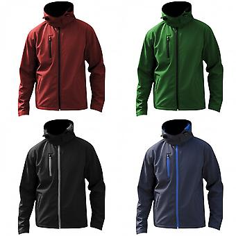 Result Core Mens Lite Hooded Softshell Jacket