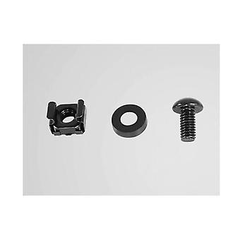 Cyberpower Cra60001 M6 Cage Nut And Screw Hardware 50 Per Pack