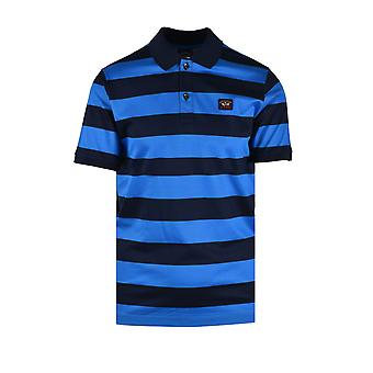 Paul & Shark Paul And Shark Organic Cotton Polo Shirt Blue & Navy