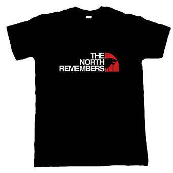 The North Remembers, Mens GOT T-Shirt - TV & Movie Gift Him Dad