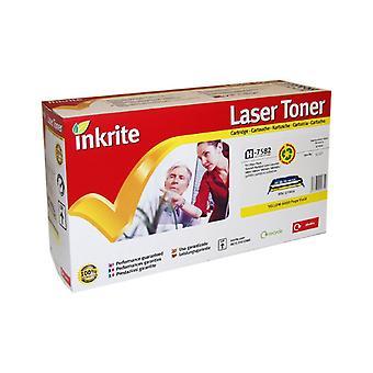 Inkrite Laser Toner Cartridge yhteensopiva HP LaserJet 3800 keltainen väri