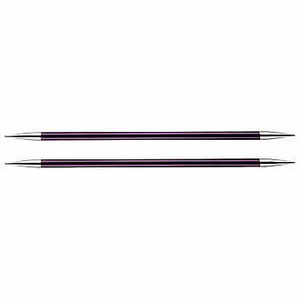 Zing: Knitting Pins: Double-Ended: Set of Five: 15cm x 6.00mm