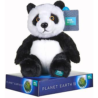 Bbc Planet Earth Ii Panda Soft Toy With Display Stand 25 Cm