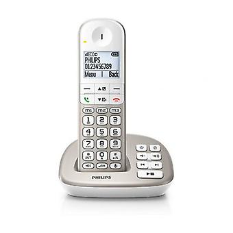 "Telefon wireless Philips XL4951S/23 1,9"" DECT White"