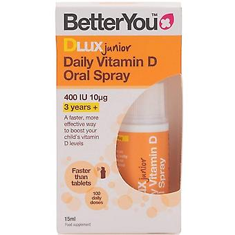 BetterYou DLux Junior Daily Vitamin D Oral Spray 15 ml