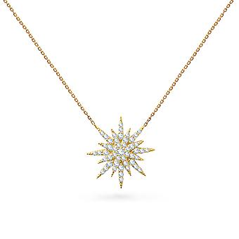 Necklace Super Nova 18K Gold and Diamonds
