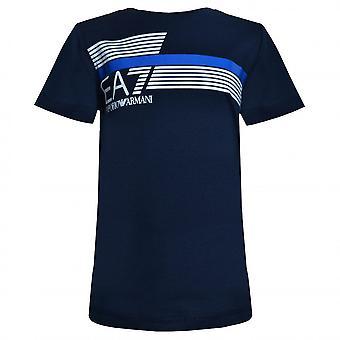 EA7 Boys EA7 Boy's EA7 Navy Blue T-Shirt