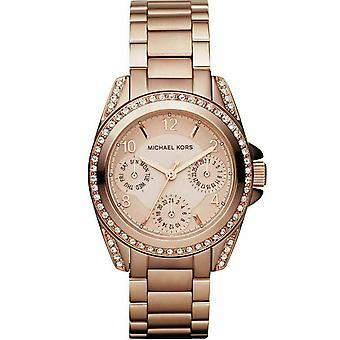 Michael Kors MK5613 Mini Blair Rose Gold-Tone Ladies Watch