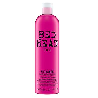 Tigi Bed Head Hair Conditioner Recharge and Shine 750ml for Dull Lifeless Hair High Octane