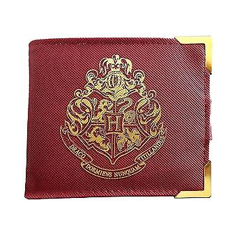 Harry Potter Gold Hogwarts Crest Premium Wallet