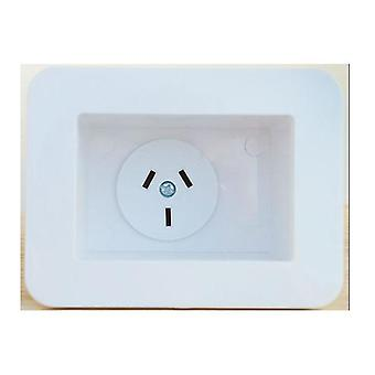 Recessed Single Appliance Outlet