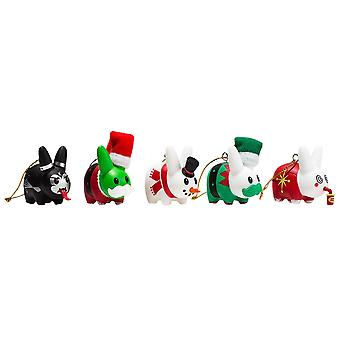 "Kozik 1,5"" Labbit Ornament 5pk"
