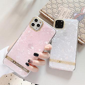 iPhone11 Pro Mother of Pearl+Gold & Apos;Have a good time''