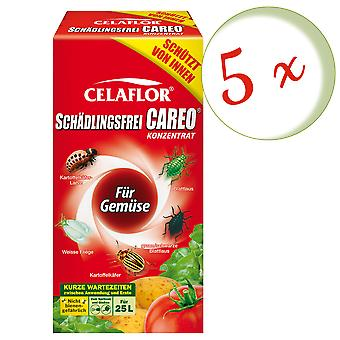 Sparset: 5 x SUBSTRAL® Celaflor® Pest-fri Careo® koncentrat til grøntsager, 250 ml