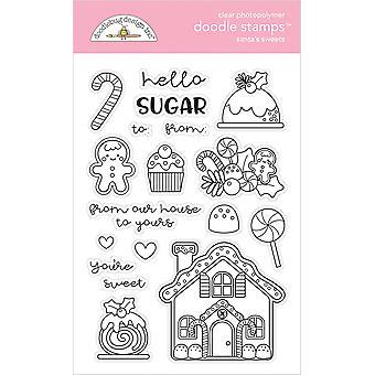 Doodlebug Design Santa's Sweets Doodle Stamps