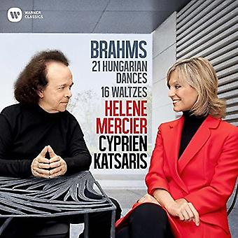 Katsaris, Cyprian / Mercier, Helene - Brahms: Hungarian Dances [CD] USA import
