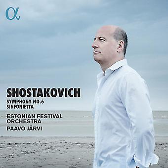 Shostakovich / Estonian Festival Orch / Metsamart - Symphony 6 [CD] USA import