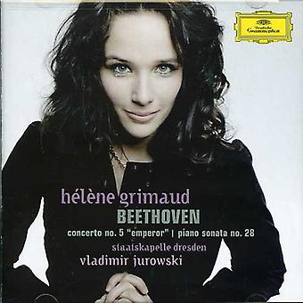 L.V. Beethoven - Beethoven: Concerto pour Piano no 5; Piano sonate n° 28 [CD] USA import