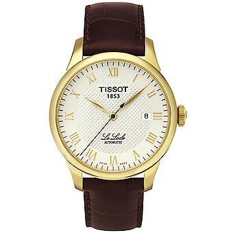 Tissot T41.5.413.73 Le Locle Automatic Skeleton Back Men's Watch