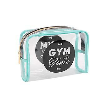 Tonique et CGB cadeaux Gym clair sac cosmétique