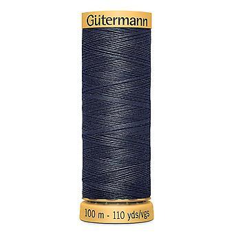 Gutermann 100% Natural Cotton Thread 100m Hand and Machine Colour Code  - 5413