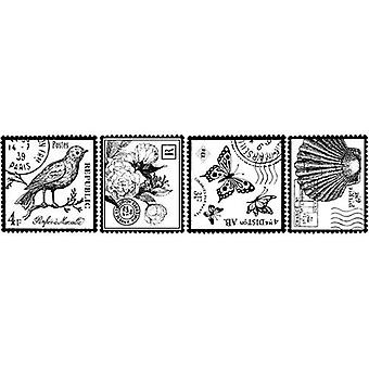 Clearsnap Rollagraph Stempel Rad Jumbo Faux Postal