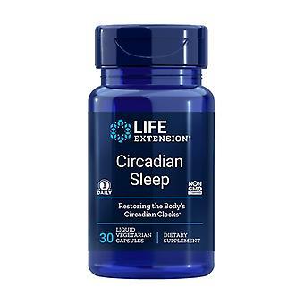 Life Extension Cicadian Sleep, 30 capsules végétales