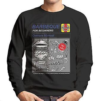 Haynes Barbeque für Anfänger Männer's Sweatshirt