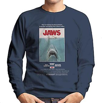 Jaws Movie Poster Men's Sweatshirt