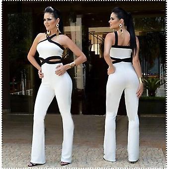 Women Jumpsuits Hot Halter Full Length Pants Playsuit