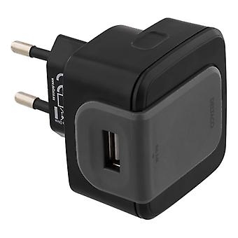 Wall Charger 240 tot 5V USB, 2.4A