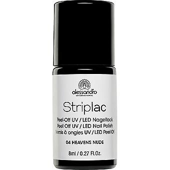 StripLAC Peel Off UV LED Nail Polish - Heavens Nude 8ml (04)