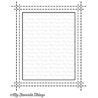 My Favorite Things Die-Namics Rectangle Peek-a-Boo Window