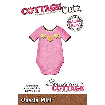 Scrapping Cottage CottageCutz Onesie Mini
