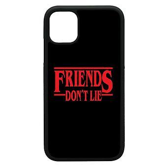 Iphone 11 κοχύλια με Freinds don't Ψέμα Stranger πράγματα εμπνευσμένα