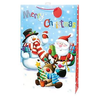I G Design Character Christmas Jumbo Gift Bag