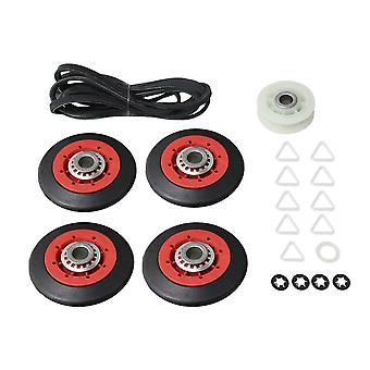 Dryer Kit with 4 Rollers 4392067 Pulley & 661570 Belt ah373088 ps373088