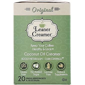 Leaner Creamer Coconut Oil Creamer Original Single Serve Packets