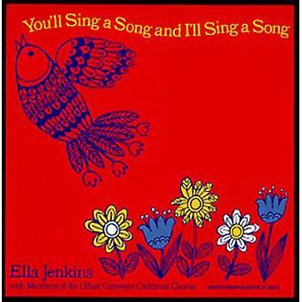 Ella Jenkins - canta una canción y me voy cantar un [CD] USA importar