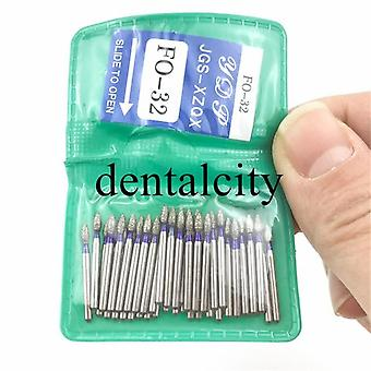 Dental Diamond Fg High Speed Burs For Polishing Smoothing