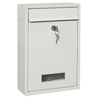 Outdoor Wall Mount Security Locking Mailbox/letter Box