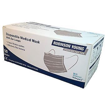 Robinson Young Disposable Medical Face Masks